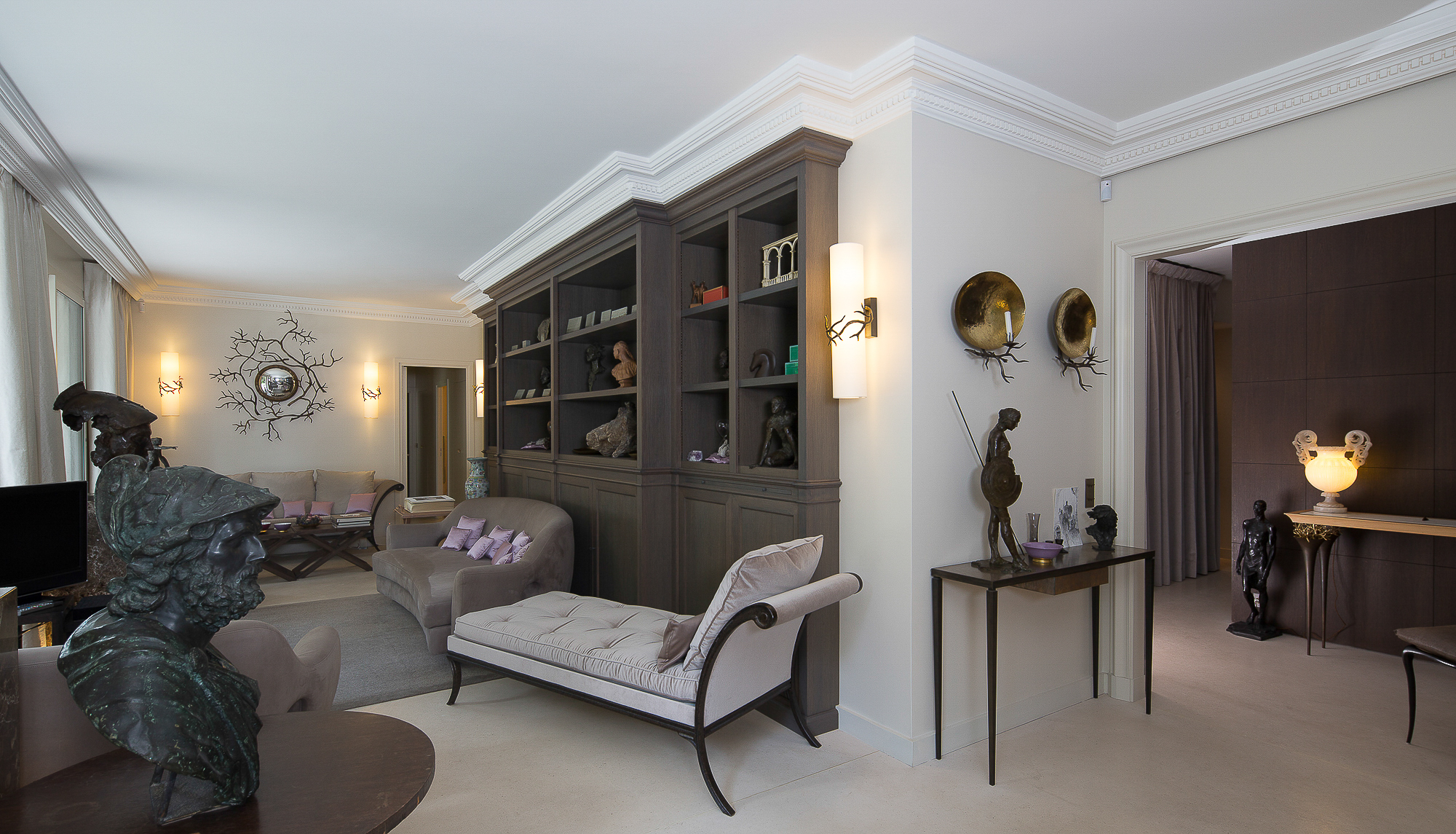 decoration interieure lozach architecture paris nantes. Black Bedroom Furniture Sets. Home Design Ideas